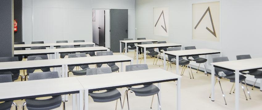 Alquiler aula de formación en el centro de Bilbao