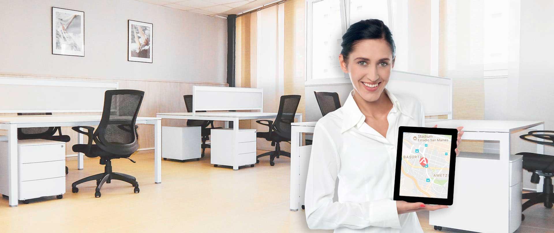 Coworking y alquiler oficinas en Bilbao