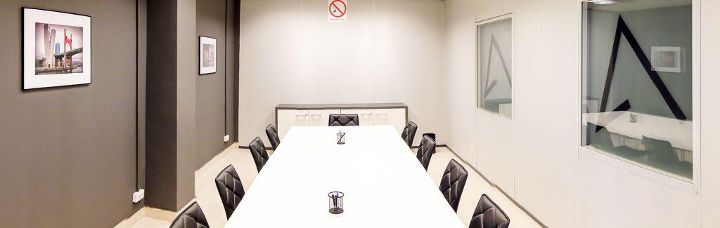 Alquiler sala de juntas en Bilbao
