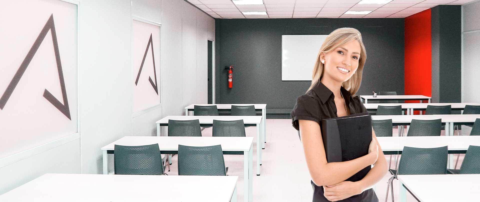 alquiler aulas de formación en Bilbao